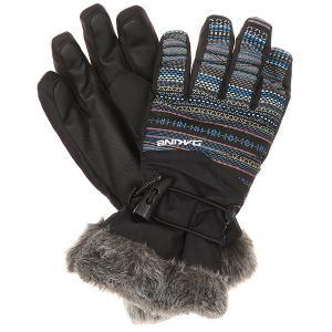 Перчатки сноубордические женские  Alero Glove Cortez Dakine. Цвет: черный,мультиколор