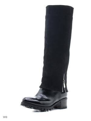 Сапоги ESTELLA. Цвет: черный, антрацитовый