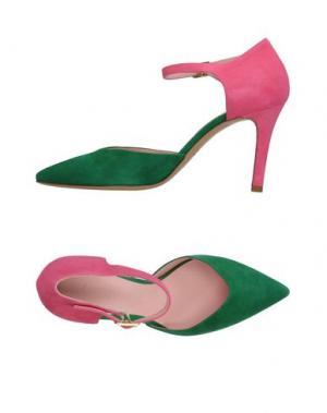 Туфли FAUZIAN JEUNESSE. Цвет: зеленый