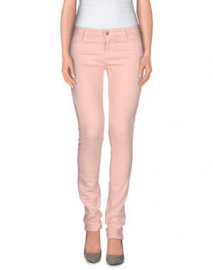 Джинсовые брюки ACQUAVERDE. Цвет: розовый