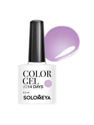 Гель-лак Color Gel Relax SCGT016/Расслабься SOLOMEYA. Цвет: сиреневый