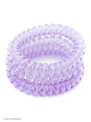Резинка-браслет для волос, 3 шт. Mitya Veselkov. Цвет: фиолетовый