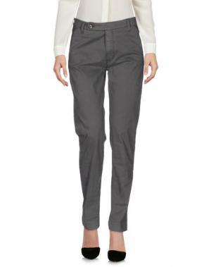 Повседневные брюки TRUE NYC.. Цвет: свинцово-серый