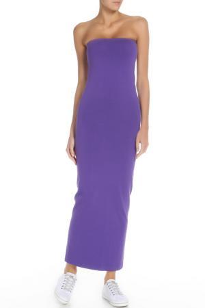 Платье American Apparel. Цвет: фиолетовый