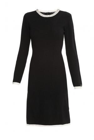 Платье из кашемира 176693 Cristina Effe. Цвет: черный