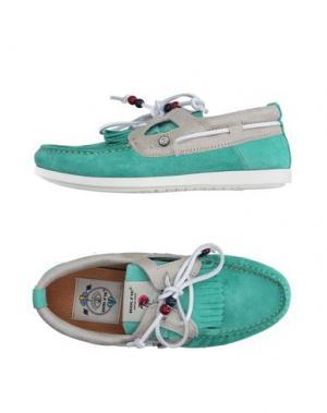 Обувь на шнурках DOLFIE. Цвет: зеленый