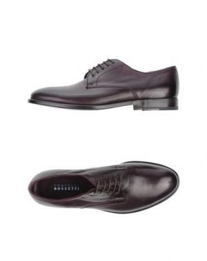 Обувь на шнурках FRATELLI ROSSETTI. Цвет: баклажанный