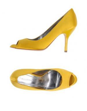 Туфли ALLUMINIO. Цвет: желтый