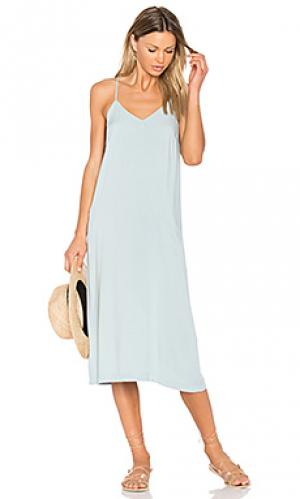 Платье pearl SAM&LAVI. Цвет: синий