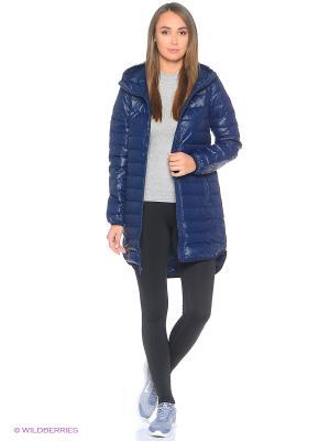 Куртка W NSW DWN FLL PRKA HD Nike. Цвет: темно-синий