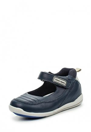 Туфли Chicco. Цвет: синий