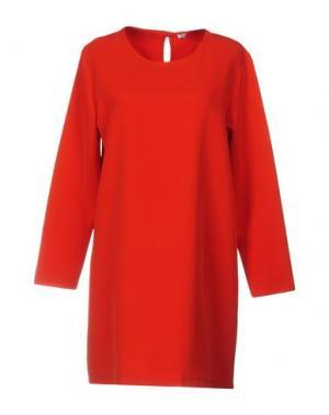 Короткое платье ANGELA MELE MILANO. Цвет: красный