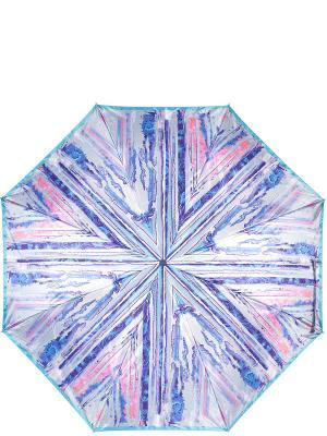 Зонт Eleganzza. Цвет: голубой, бледно-розовый
