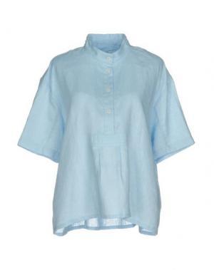 Пижама THE SLEEP SHIRT. Цвет: небесно-голубой