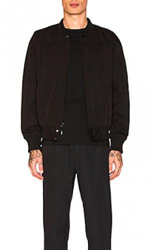 Университетская куртка sanders Brandblack. Цвет: черный