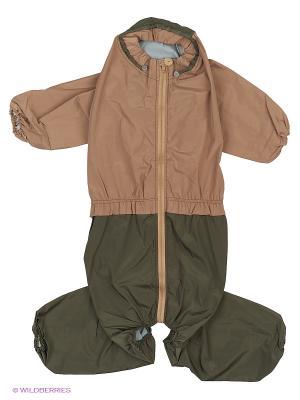 Дождевик холодный (Американский Бульдог), девочка ТУЗИК. Цвет: оливковый