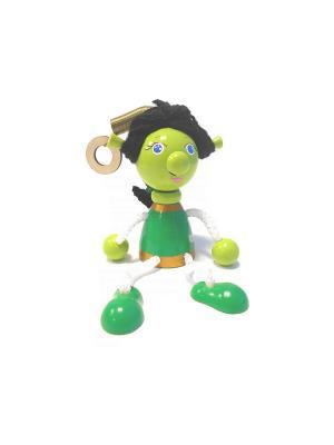 Игрушка подвеска на пружине - Фиона Taowa. Цвет: зеленый