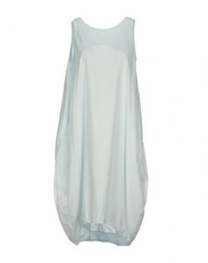Платье до колена EUROPEAN CULTURE. Цвет: небесно-голубой