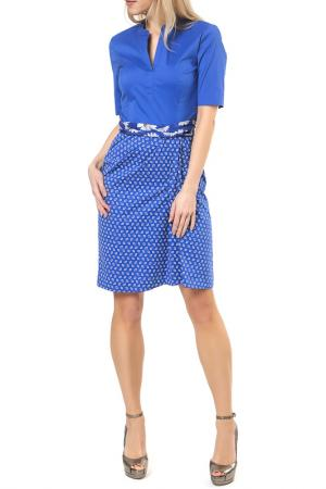 Платье Riani. Цвет: синий