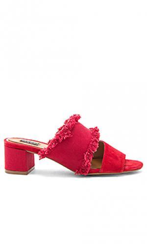 Туфли на каблуке acme JAGGAR. Цвет: красный