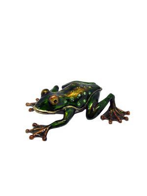 Шкатулка Лягушка Yen Ten. Цвет: зеленый