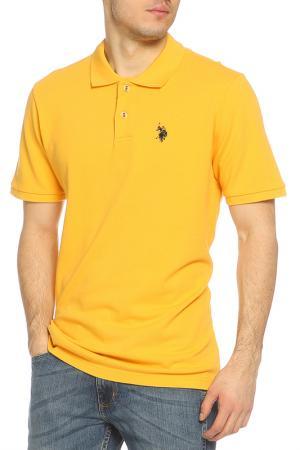 Футболка-поло U.S. Polo Assn.. Цвет: 800 желтый
