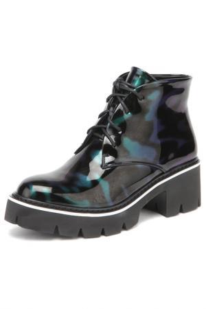 Ботинки RIDLSTEP. Цвет: зеленый
