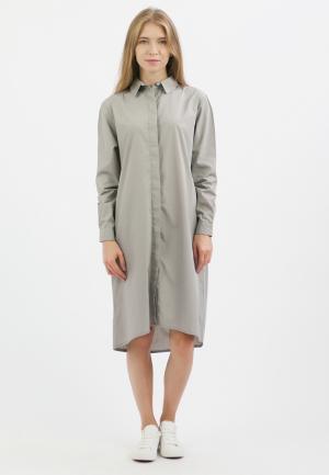 Платье Monoroom. Цвет: серый