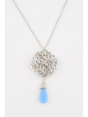 Колье Inesse M. Цвет: синий
