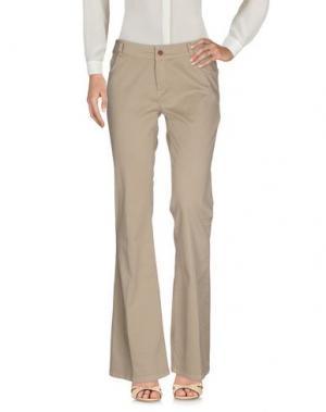 Повседневные брюки ANOTHER LABEL. Цвет: бежевый