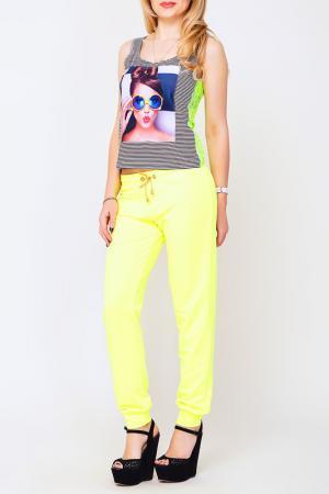 Брюки Majaly. Цвет: лимонный