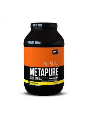 Протеин QNT  Metapure Zero Carb (лимон/меренга) 1 кг. Цвет: черный, белый, оранжевый