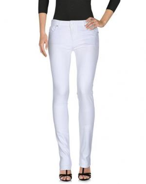 Джинсовые брюки NINE:INTHE:MORNING. Цвет: белый