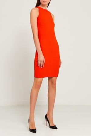 Оранжевое платье из трикотажа Gucci. Цвет: оранжевый
