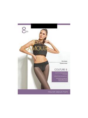 Колготки Couture 8 Glamour. Цвет: черный