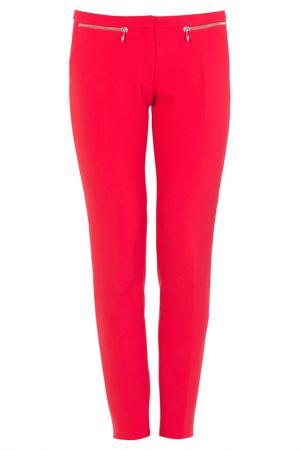 Брюки Versace Collection. Цвет: красный