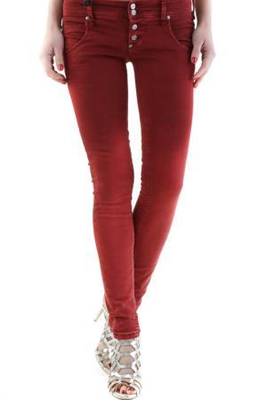 Джинсы Sexy Woman. Цвет: красный