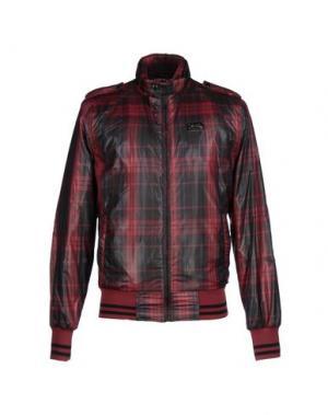 Куртка DATCH. Цвет: красно-коричневый