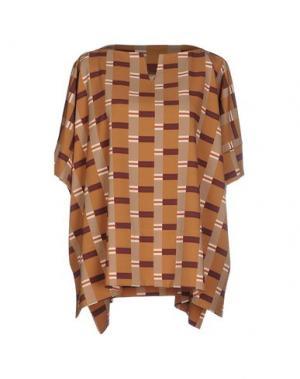 Блузка OTTOD'AME. Цвет: верблюжий