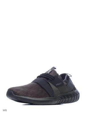 Кроссовки ANTA. Цвет: черный, темно-коричневый, серый
