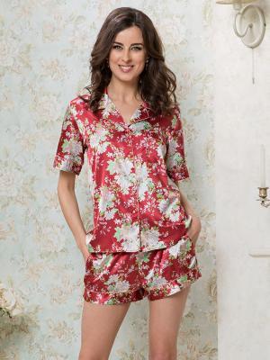 Пижама MIA-MELLA. Цвет: терракотовый