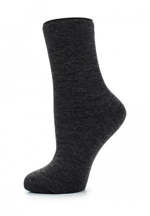 Носки Alla Buone. Цвет: серый