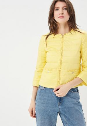 Куртка утепленная SH. Цвет: желтый