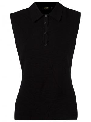 Sleeveless polo shirt Gig. Цвет: чёрный