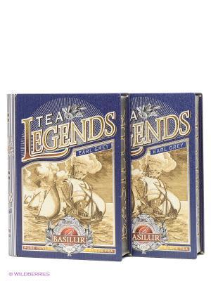 Набор Чай Basilur Чайные легенды - Эрл Грей, 100 г. Цвет: темно-синий