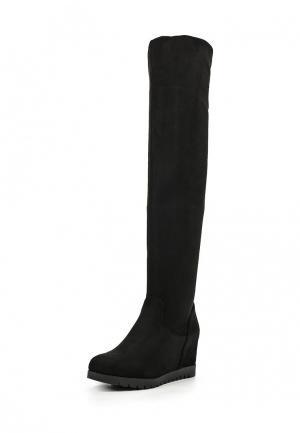 Сапоги Fashion & Bella. Цвет: черный