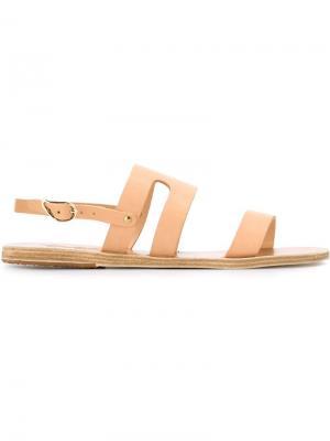 Сандалии Athanasia Ancient Greek Sandals. Цвет: телесный