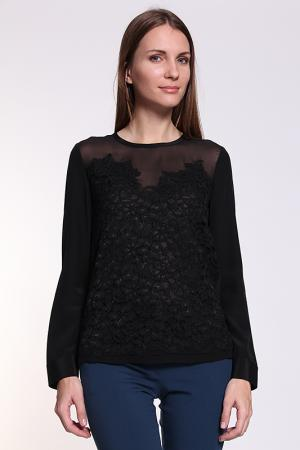 Блуза DIANE VON FURSTENBERG. Цвет: черный