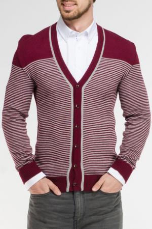 Кофта Rocawear. Цвет: бордовый