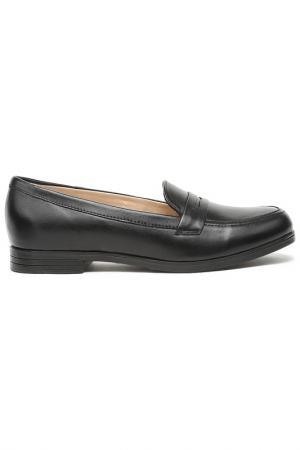 Туфли MAKFLY. Цвет: черный